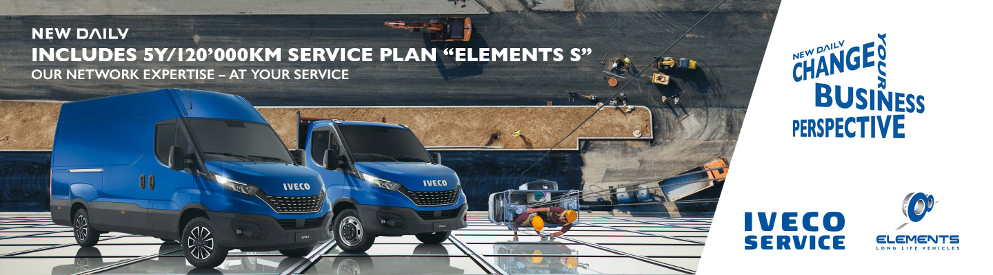 Daily MY19 IVECO website banner HP